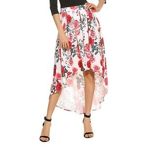 Dresses & Skirts - 🔘 High Low Skirt Red Roses